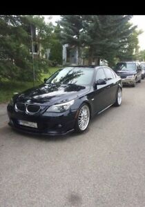 2008 Black BMW 550i M-Package: Open to Offers