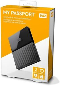 WD My Passport 2TB portable hard drives MAC & PC versions