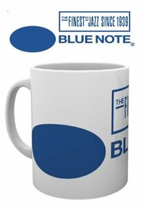 BLUE NOTE RECORD LOGO JAZZ LABEL MUG NEW GIFT BOXED 100% OFFICIAL MERCHANDISE