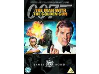17 James Bond 007 DVDs - Region 1 & 2