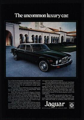 1975 Green JAGUAR XJ Series Sedan Luxury Car - Uncommon - VINTAGE AD
