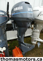 Like New - 2000 YAMAHA 25 HP Tiller Outboard Motor (771478)