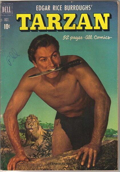 Tarzan Comic Book #25 Dell Comics 1951 FINE-/FINE