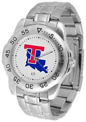 (Louisiana Tech Bulldogs-Sport Steel Mens Watch)