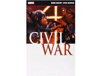 Captain America Civil war Comic book: collectors item