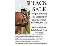Tack Sale in aid of The Suffolk Punch Trust