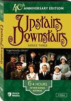 UPSTAIRS DOWNSTAIRS 40TH ANNIVERSARY EDITION, PART 1,2,3 DVD SET