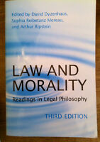 Law and Morality: Readings in Legal Philosophy, 3rd Ed.