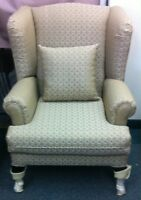 New Beautiful Wing Chair