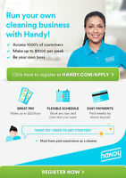 SAT AND SUN PART-TIME CLEANERS WANTED - up to $22/hour! Watch|Sh