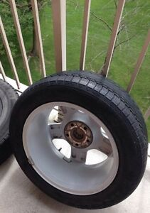Audi A4 - 4 Rims + 4 All season Tires 60% Tread all for $350 London Ontario image 2