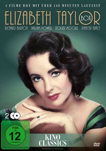 ELISABETH-TAYLOR-Classic-COLLEZIONE-Spencer-Tracy-RICHARD-BURTON-2-DVD-Box-NUOVO