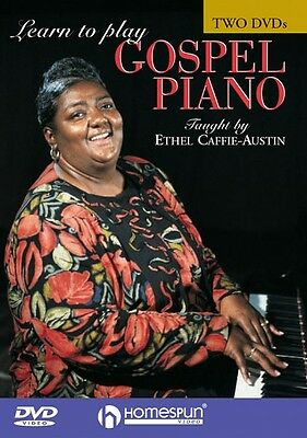 Learn to Play Gospel Piano Two-DVD Set DVD NEW 000641579 on Rummage