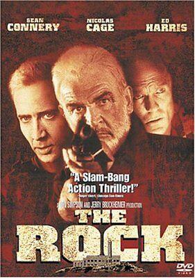The Rock Nicolas Cage Sean Connery  Dvd  1997  New