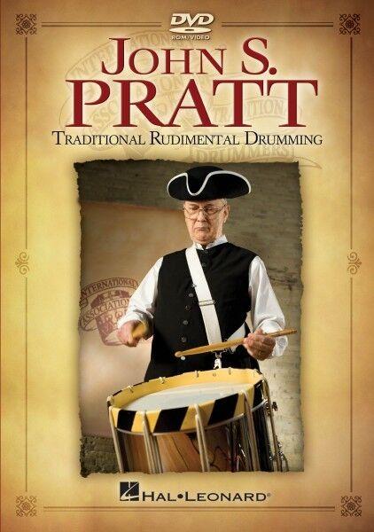 John S. Pratt Traditional Rudimental Drumming Instructional Drum  DVD  000320825