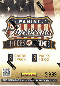 Panini Americana Heroes & Legends Blaster Box - 2012