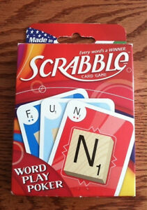 Scrabble Card Game-new! London Ontario image 1