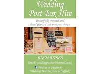 Wedding Post Box Hire (Royal Mail & heart shaped)
