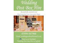 Wedding Post Box Hire (Royal Mail & heart shaped)