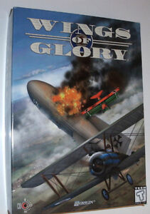 PC Game: WINGS OF GLORY (1994) New.