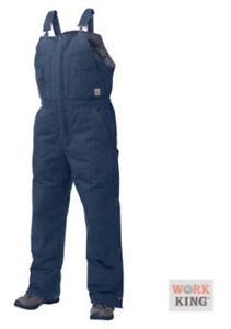 NEW !! WORK KING DELUXE  INSULATED BIB OVERALLS   3xl