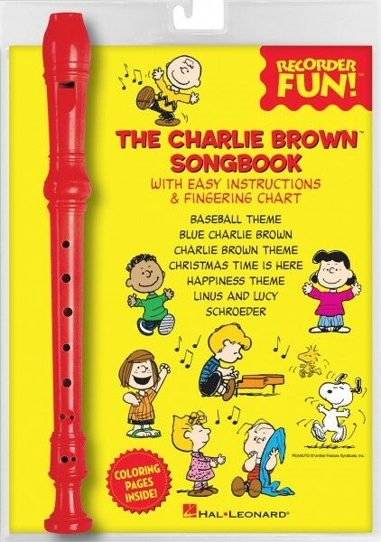 The Charlie Brown Songbook Recorder Fun! Book Recorder Pack NEW 000158666