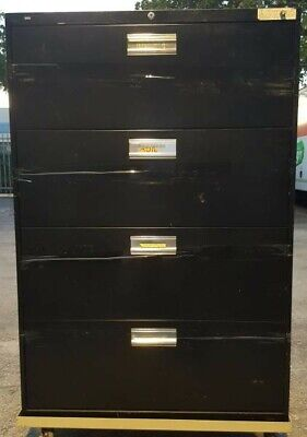 Hon Four-drawer Lateral File Cabinet - 36w X 18d