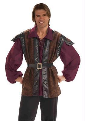 MENS MEDIEVAL RENAISSANCE MERCENARY VEST COSTUME DRESS - Mercenary Costume