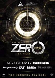 4x Project Zero NYE printed soft copies. 4 for 110 ea. Burwood Burwood Area Preview
