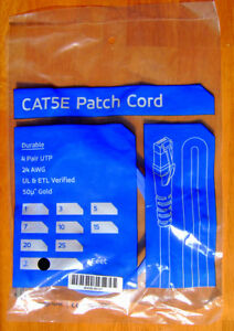 Cat5e Patch Cord 2 Ft