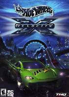 PC Game - HOT WHEELS Velocity X (NEW). Year 2002