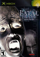 Looking for Fatal Frame I - II - III for Xbox + PS2