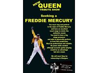 FREDDIE MERCURY wanted for New Tribute Show