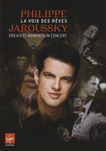 PHILIPPE JAROUSSKY - GREATEST MOMENTS IN CONCERT  DVD HÄNDEL/VIVALDI/HASSE NEU