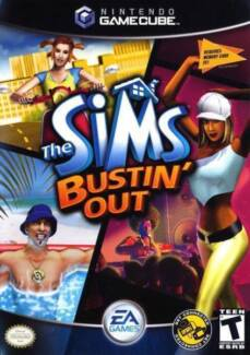 The Sims Bustin Out game for Nintendo GameCube games console Adelaide CBD Adelaide City Preview