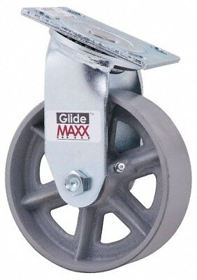 Glide Maxx 6 Inch Diameter X 2 Inch Wide Swivel Caster With Top Plate Mount ...