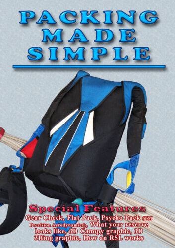 Packing Made Simple parachute packing DVD