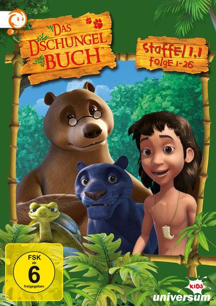 Das Dschungelbuch - 1.1 Staffel - 26 Folgen - 5 DVD Box - Neu u. OVP