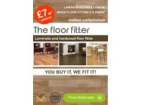 Laminate floor fitter £7 per sqm (flooring and handyman service)