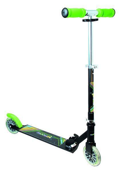 muuwmi - Aluminium Scooter - neon - 125 mm - B-Ware