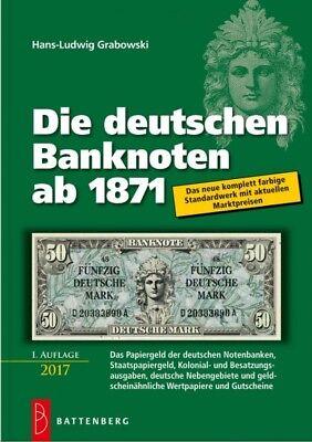 Die deutschen Banknoten ab 1871, 21. Aufl. 2018