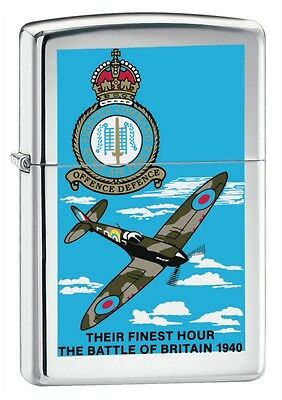 Zippo Battle of Britain Polished Chrome - Zippo 250BB