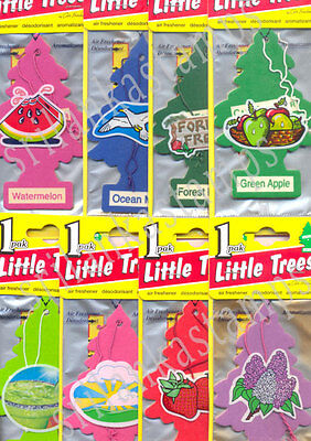 LITTLE TREES CAR-FRESHNERS, Carded Air Fresheners, Made in USA, Auto