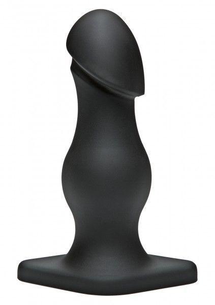 Doc Johnson TitanMen TITANMEN THE RUMPY BLACK toys anal buttplugs 3001320011