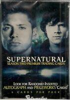 Supernatural Season 2 Card Set & Plastic Case ( Inkworks)