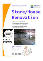 ★ Residential & Commercial Renovations ★