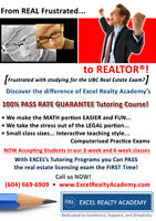 *** 3 & 6 week COURSES  to ACE the UBC  Real  Estate  EXAM ***