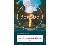BONOBO TICKETS BRIXTON ACADEMY £40