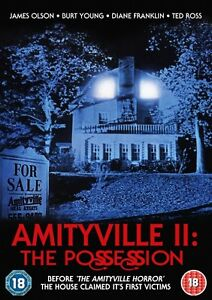 Amityville II: The Possession (DVD) (NEW AND SEALED) (REGION 2) (FREE POST)