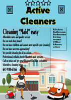 OFFER CLEANING 647-930-6366